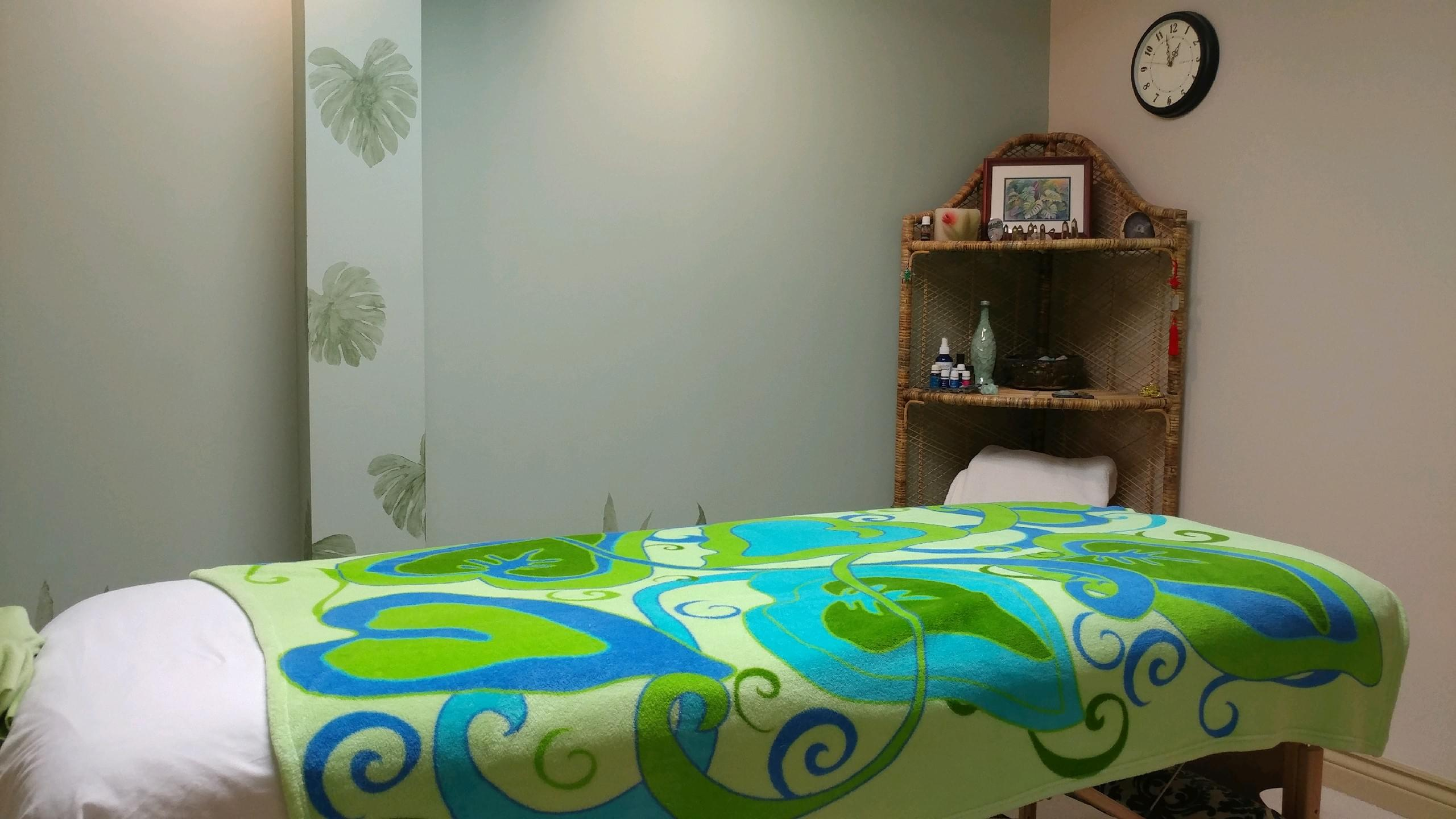 Gina Ishikawa Massage Therapist Massage Table & Office